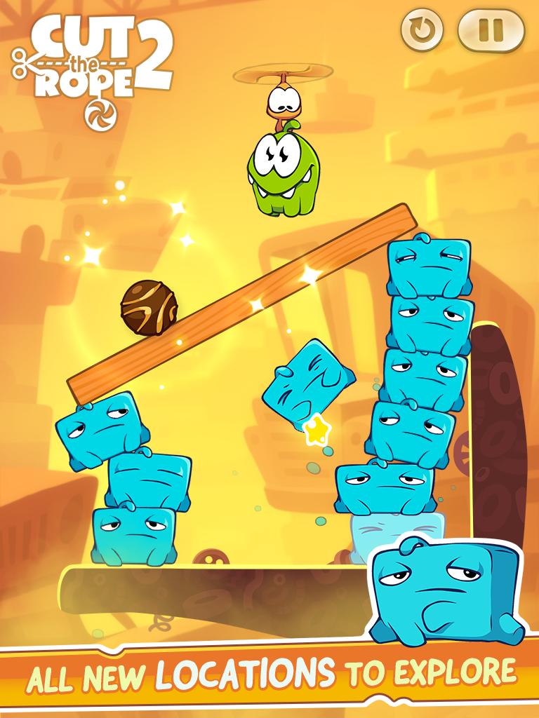gameplanet Cut the Rope 2