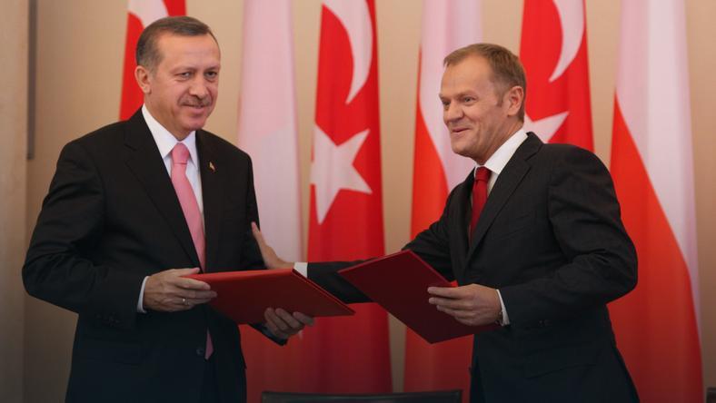Znalezione obrazy dla zapytania Tusk przeciw Turcji