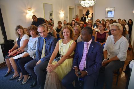 Predstavljanje knjige u rezidenciji ambasadora Švedske