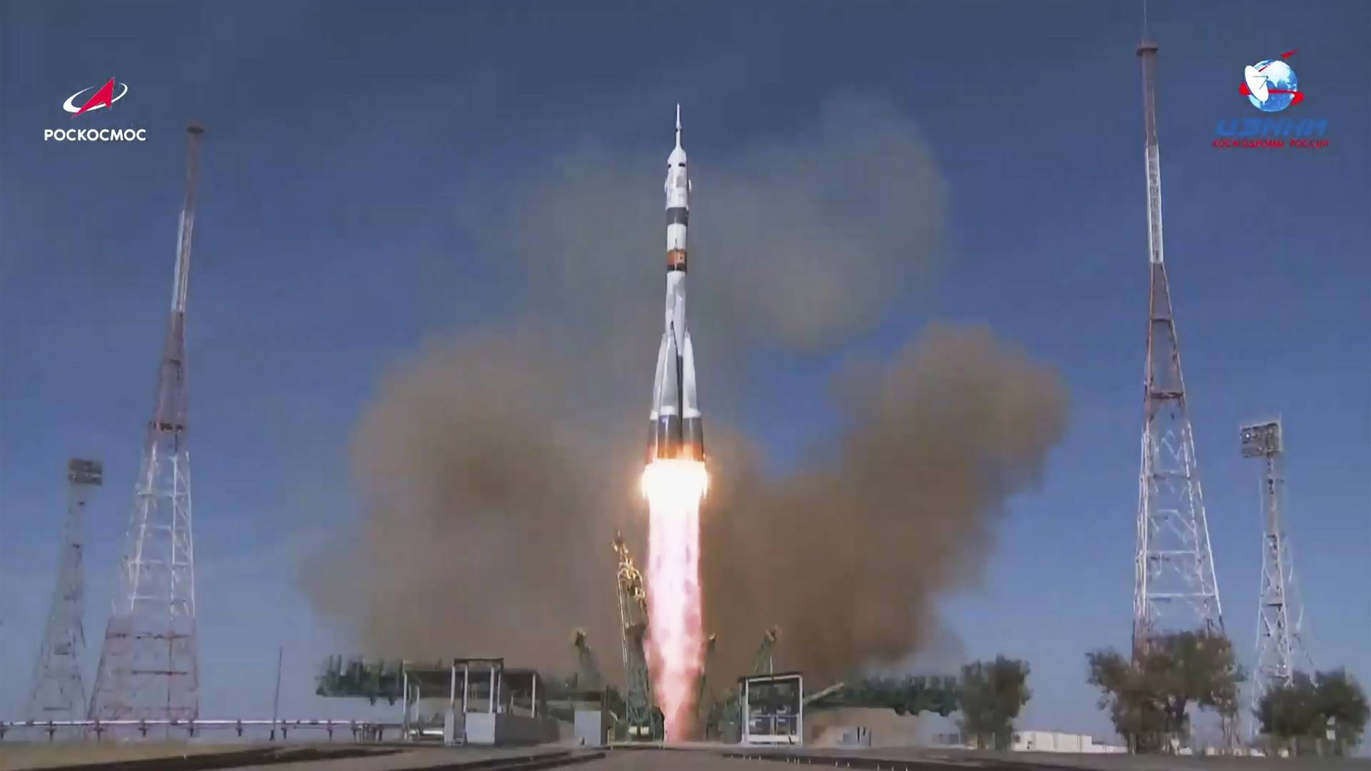 ISS: Drei Raumfahrer fliege zur Internationalen Raumstation