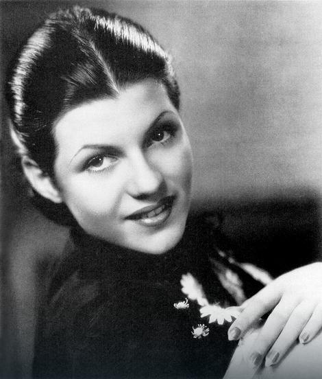 Rita Hejvort, 1935.