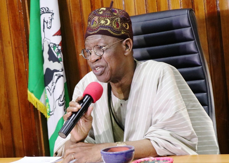 Minister of Information and Culture, Lai Mohammed takes aim at opposition PDP [Twitter]