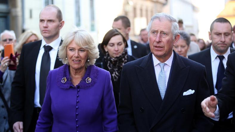 Károly herceg és Kamilla hercegnő  /fotó: AFP