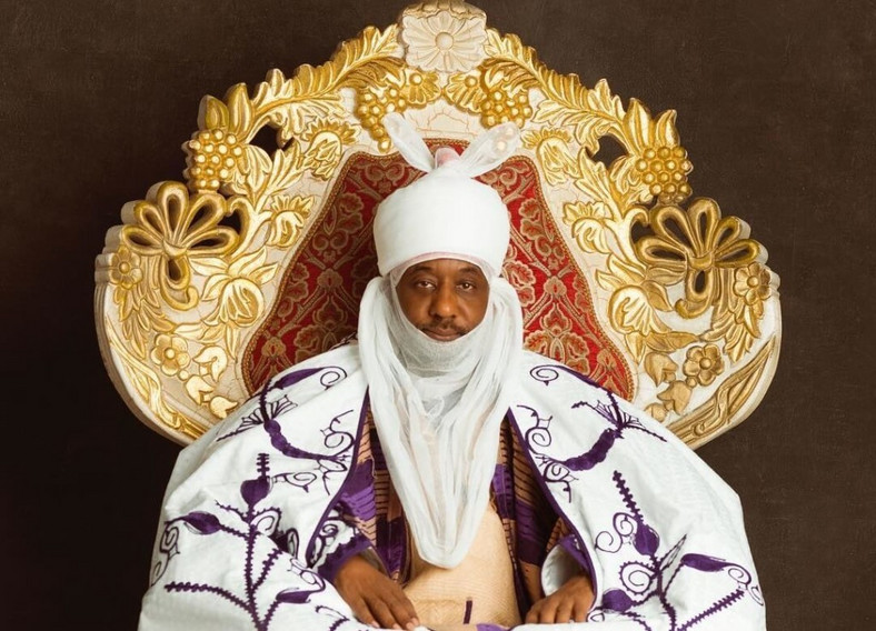 Emir of Kano, Muhammad Sanusi Lamido says he left South Africa when he learnt of all that has happened (Kano Emirate)
