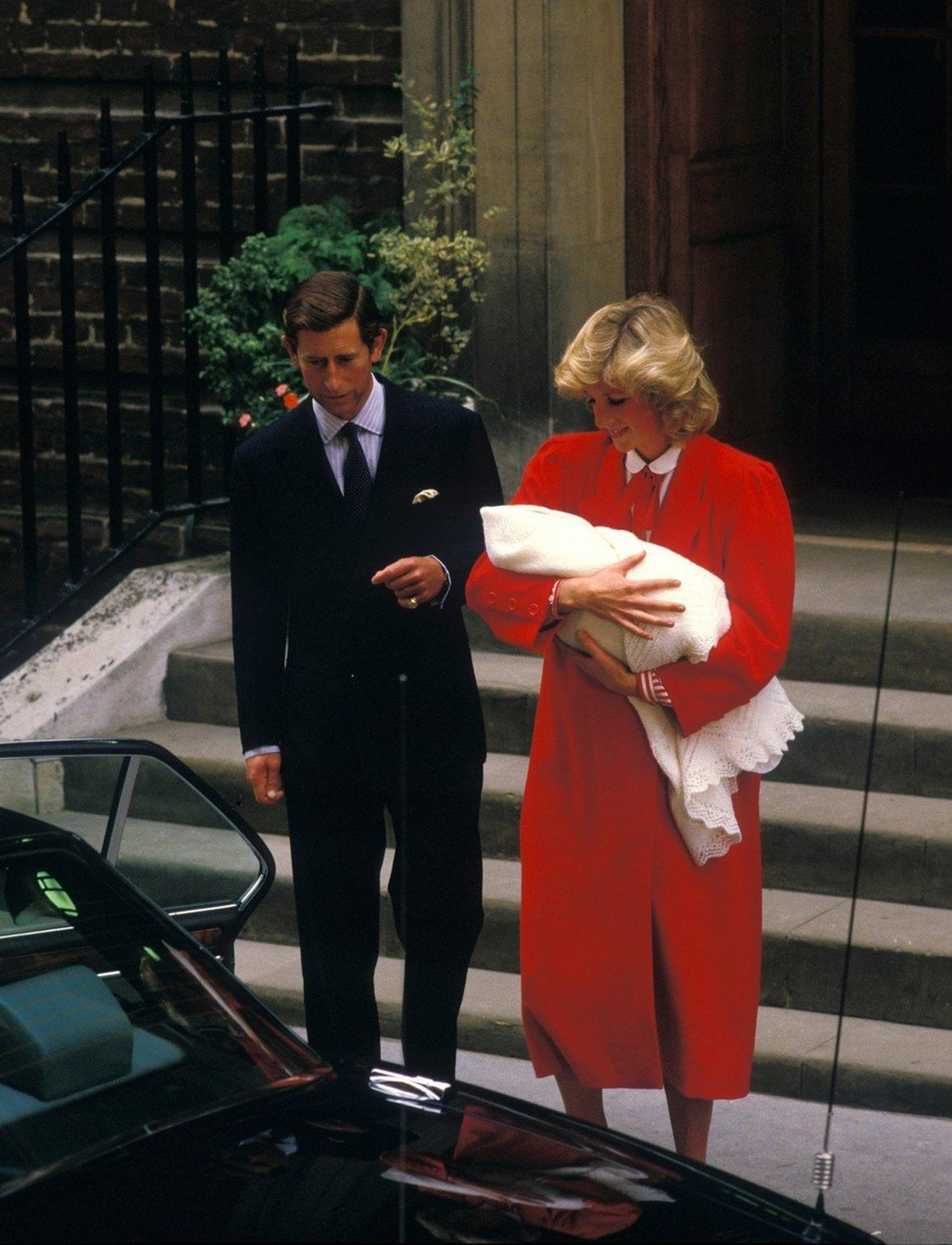 Dajana, Čarls i beba Hari: London, 1984. godine