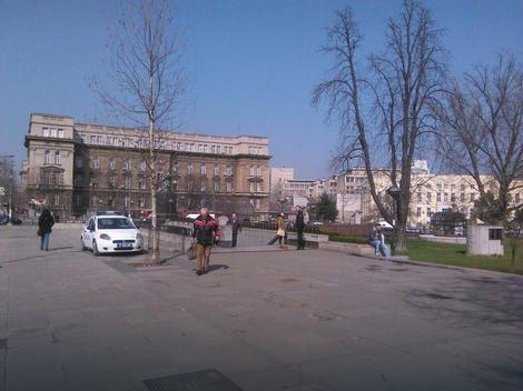 Policija viđena danas kod Vukovog spomenika
