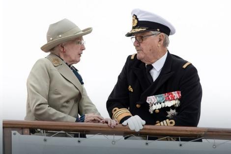 Kraljica Margret i princ Henrik