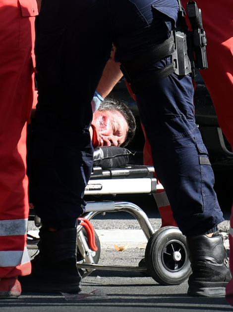 Marko Nikolić prilikom hapšenja