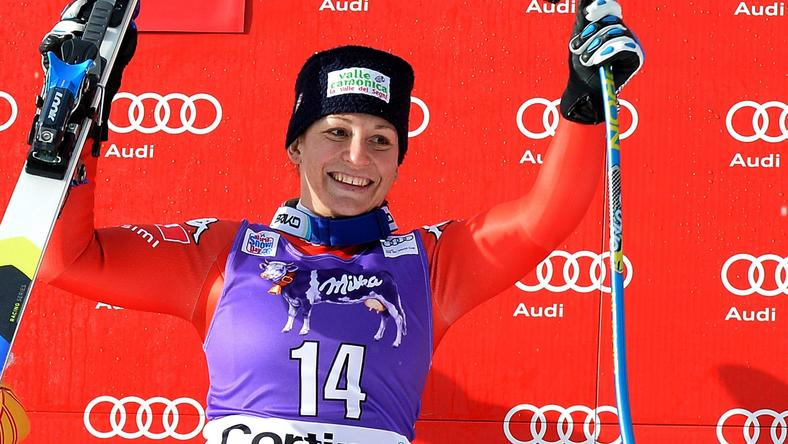 SKI-ALPINE-WORLD-WOMEN-DOWNHILL