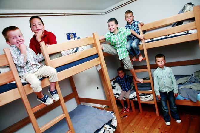 Muška soba malih Kovačevića