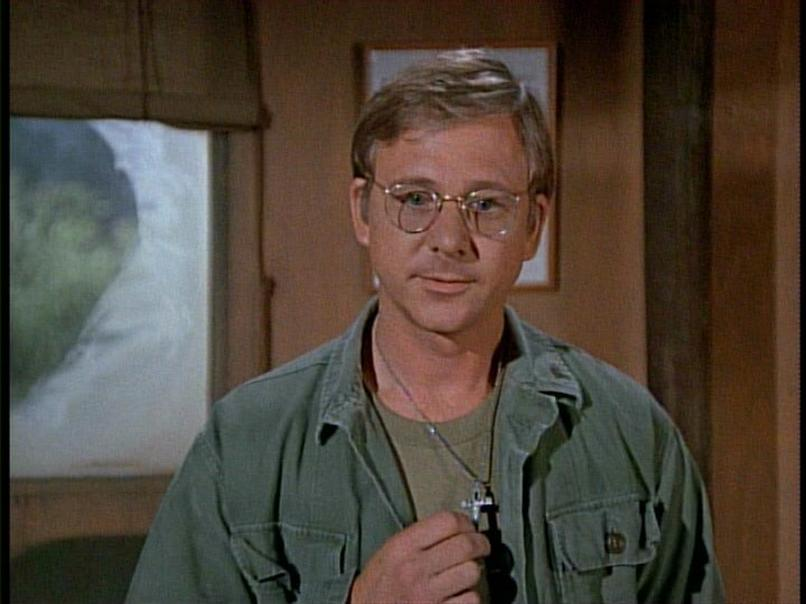 William Christopher w serialu M*A*S*H