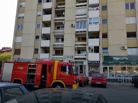 Intervencija vatrogassaca u Fruškogorskoj ulici