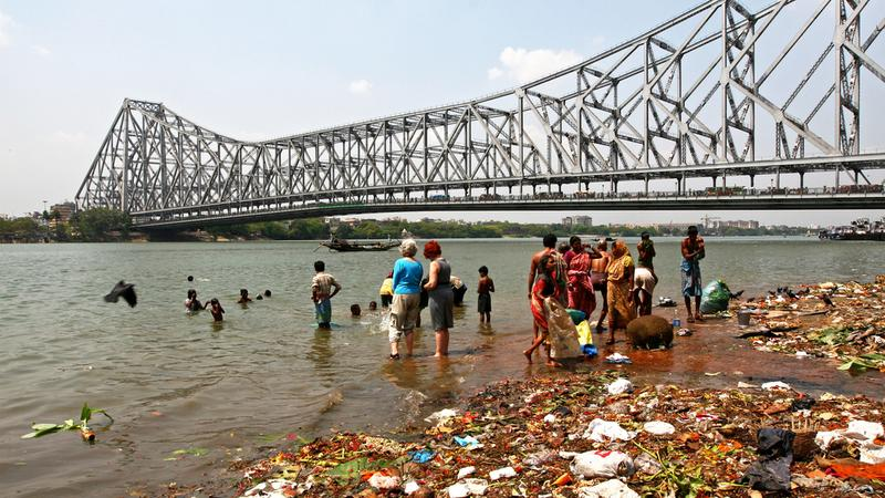 Kalkuta, Howrah Bridge