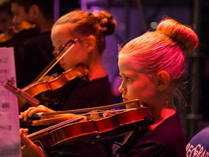"""Gala koncert Regionalne dečje filharmonije """"Zimska muzička čarolija"""""""