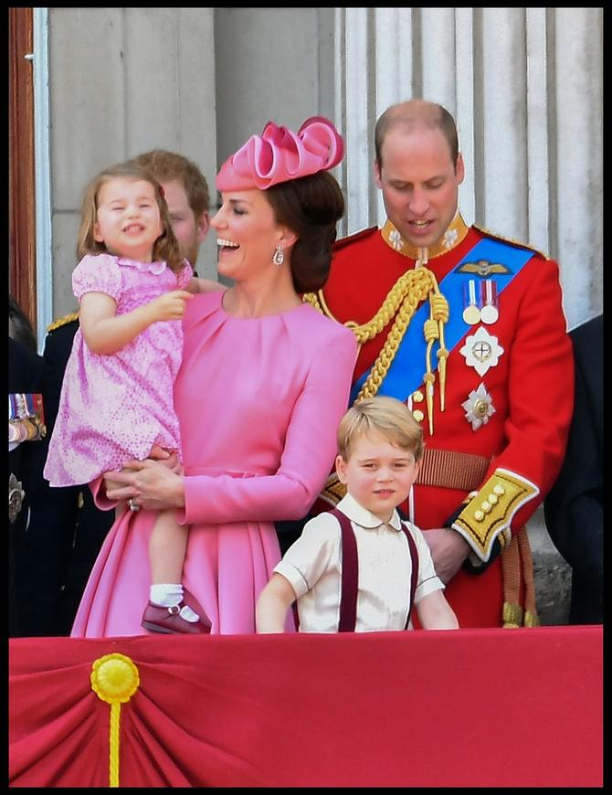 Kejt je blistala za kraljičin 91. rođendan