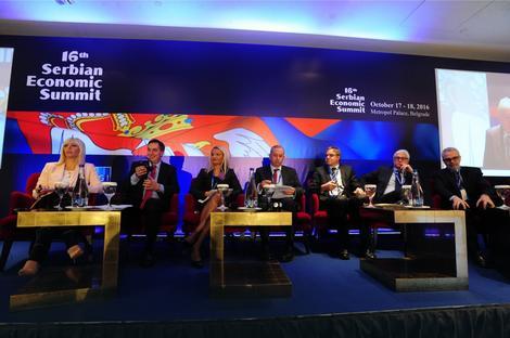 Сегодня открылся Экономический саммит Сербии