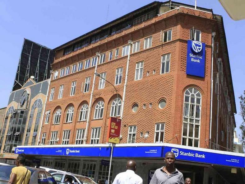 Stanbic Bank on Kimathi Street Nairobi.