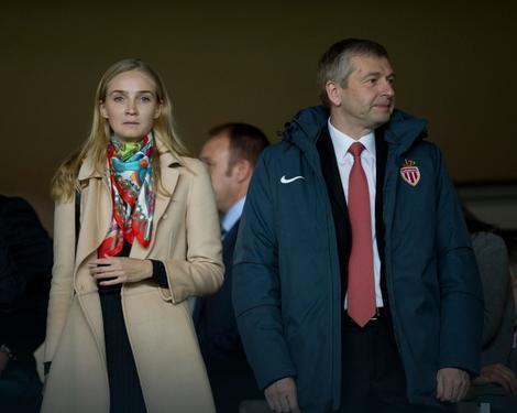 Dmitrij Ribolovljev sa bivšom suprugom Elenom