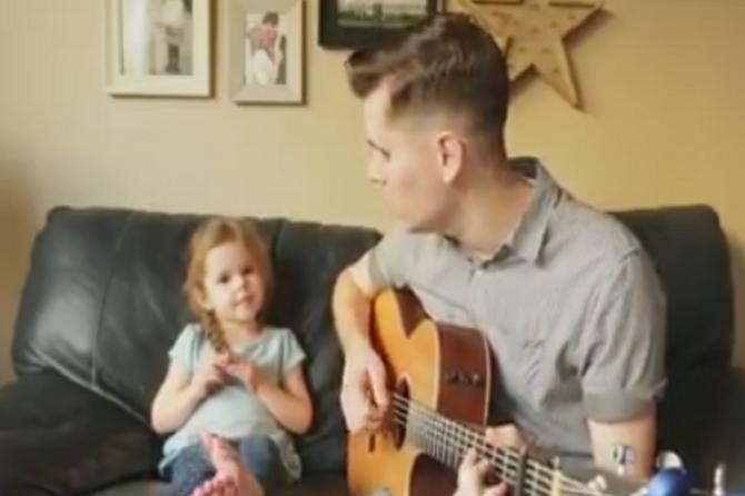 Video ćerke i tate pogledalo je 84 MILIONA LJUDI: Razlog je FENOMENALAN!