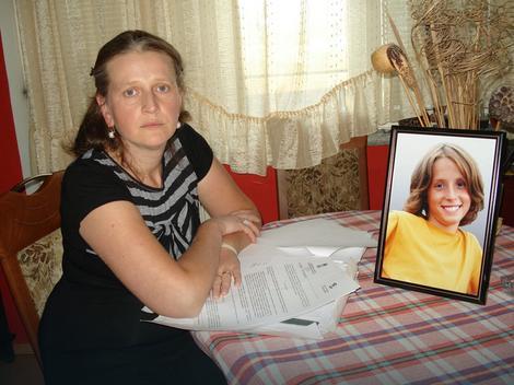 Dragana Janković, majka pokojnog Alekse