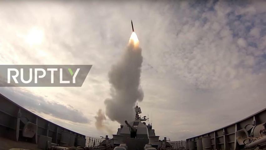Rosyjska flota otworzyła ogień na Bałtyku