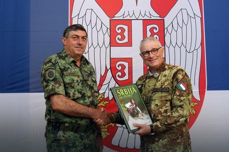 Načelnik Vojske Srbije sa komandantom Kfora