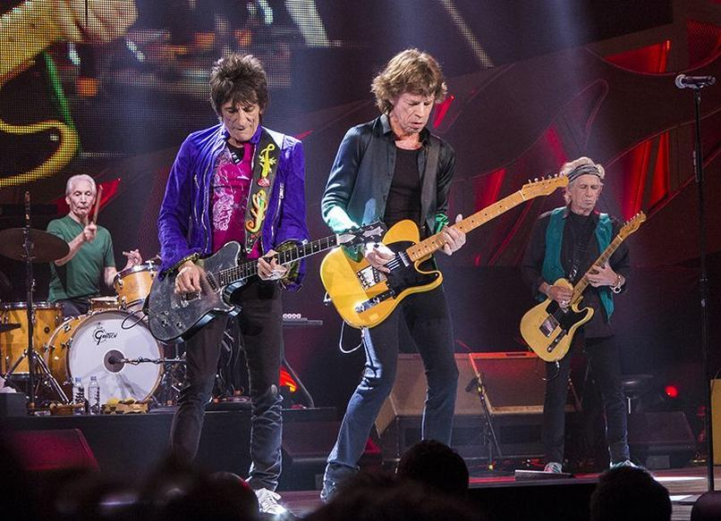 The Rolling Stones w 2015 roku