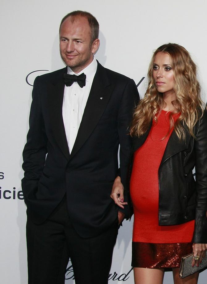Sandra i Andrej Meljničenko 2012. u Kanu dok je gospođa Meljničenko bila u prvoj trudnoći