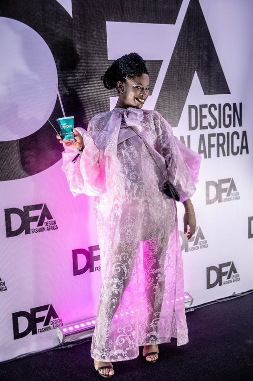 Fayrouz refreshes in style at Design Fashion Africa