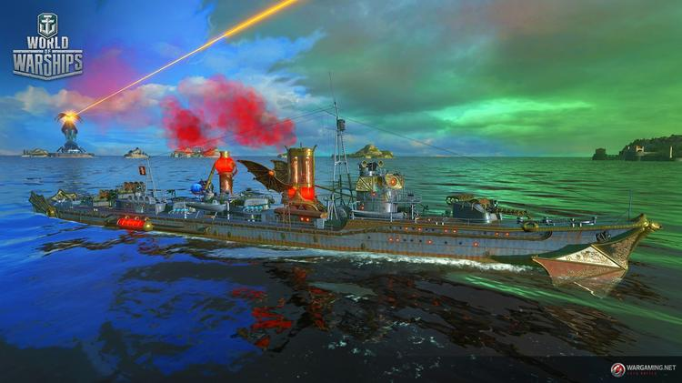 World of Warships Halloween Event