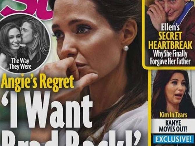 Naslovna koja trese sve: Anđelina sada želi OVO?