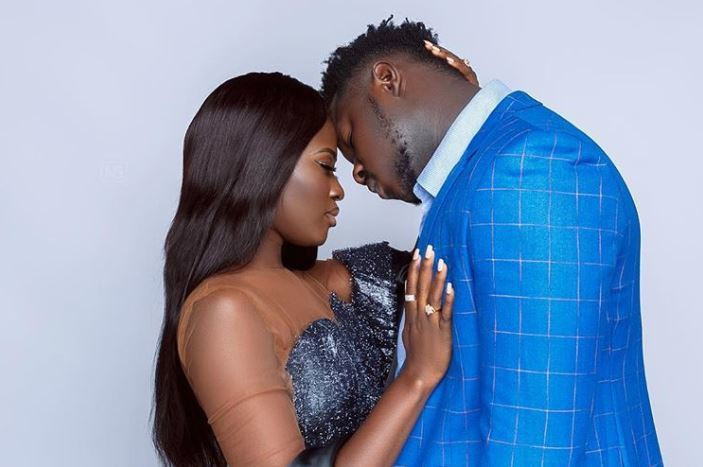Fella Makafui and rapper boyfriend Medikal