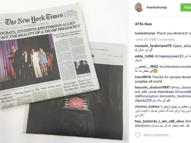 Dok Ivanka Tramp slavi na Instagramu, njenog oca spuštaju U BLATO, ali i dižu U NEBESA!