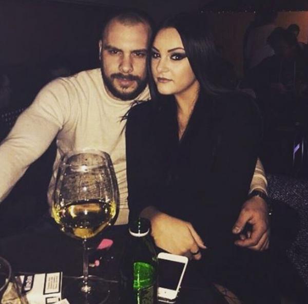 Mirna Radulović i dečko Predrag