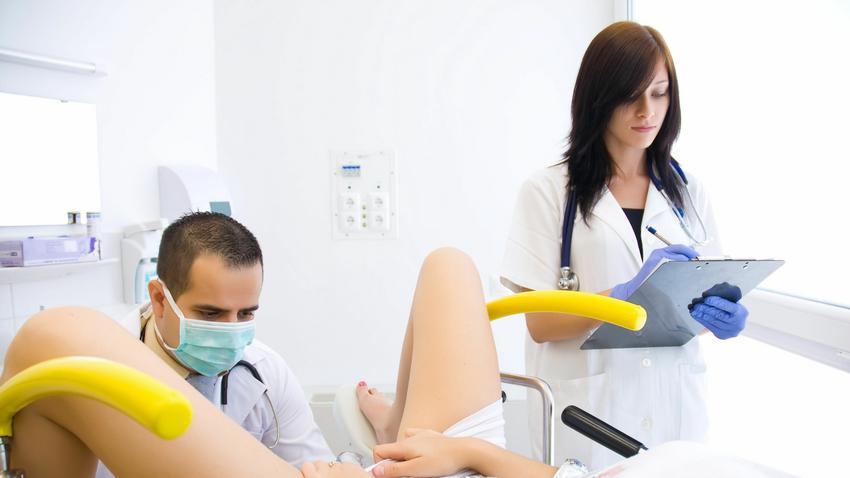 Прием у гинеколога смотреть фото