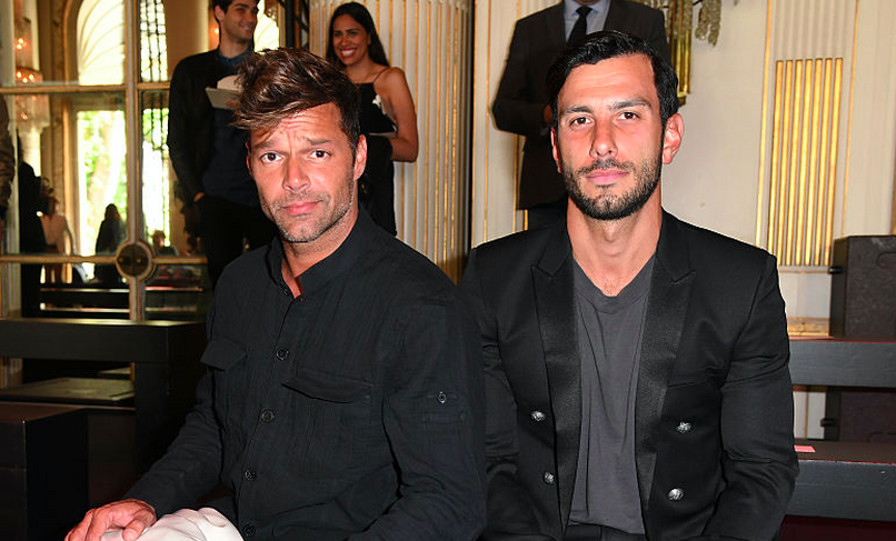 Ricky Martin so snúbencom Jwanom Yosefom. Foto: GettyImages