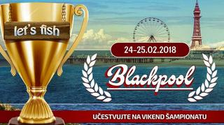 Blackpool vikend šampionat u Let`s Fish