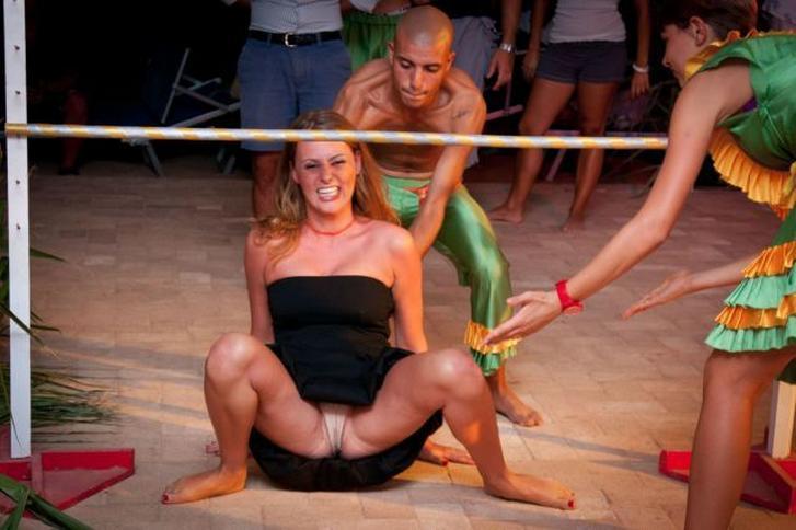women doing limbo nude