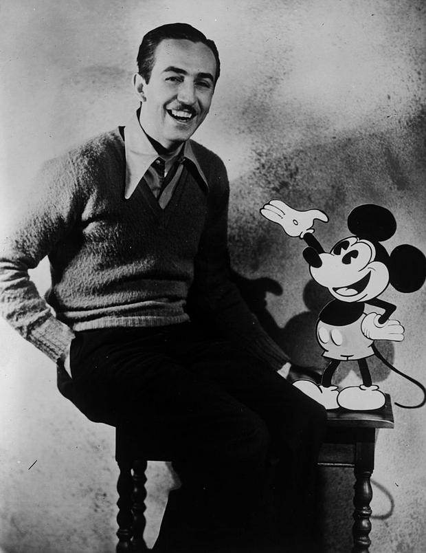 Walt Disney a Mickey Mouse. Foto: GettyImages