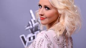 "Christina Aguilera na konferencji ""The Voice"""