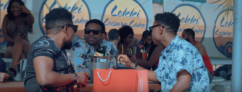 Gabriel Afolayan in the movie, 'Coming from Insanity.' [YouTube/The Movement Pro. Pictures]