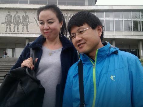 I kineski turisti u Kući cveća
