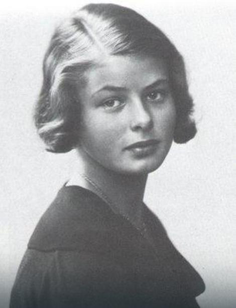 Ingrid Bergman sa 14 godina