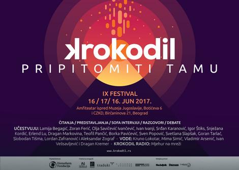 """""""Pripitomiti tamu"""": deveto izdanje festivala KROKODIL"""