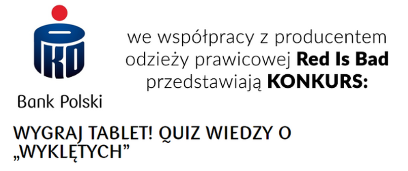 "PKO BP robi konkurs we współpracy z ""Red is Bad"""