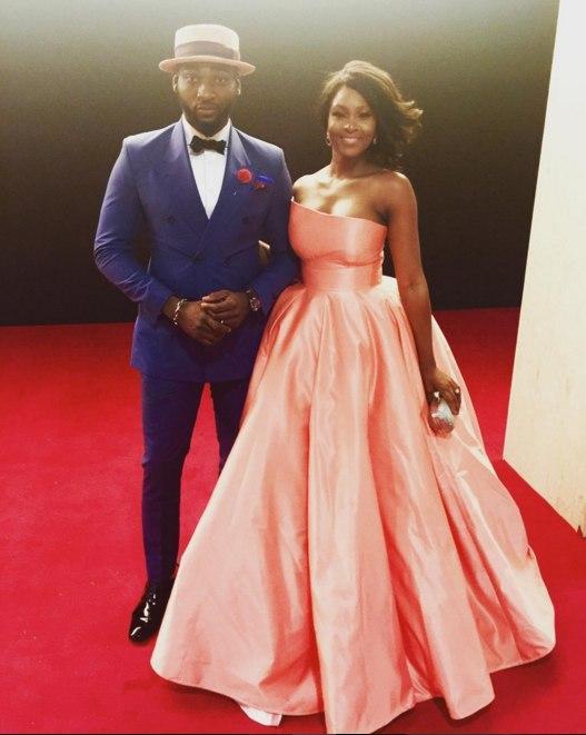 Gbenro Ajibade and wife, Osas Ajibade