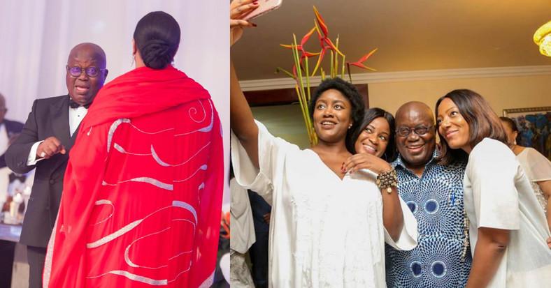 Nana Addo and family