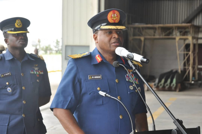 Chief of the Air Staff (CAS), Air Marshal Sadique Abubakar [Twitter/@CAS_AMSadique]