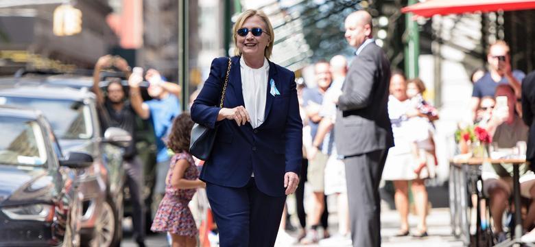 Hillary Clinton wraca do gry po przerwie
