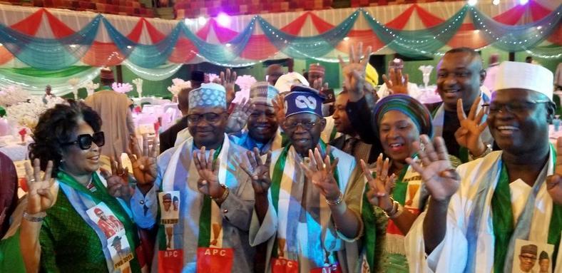 Buhari inaugurates APC Presidential Campaign Council, says Tinubu to take charge